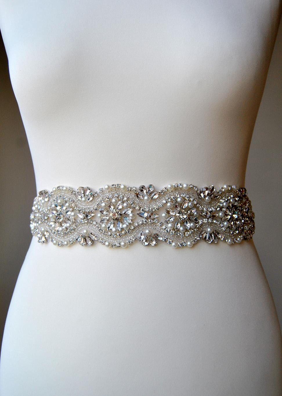 Bridal Sash, Bridal belt, Wedding Sash, Wedding Belt, Bridesmaids ...