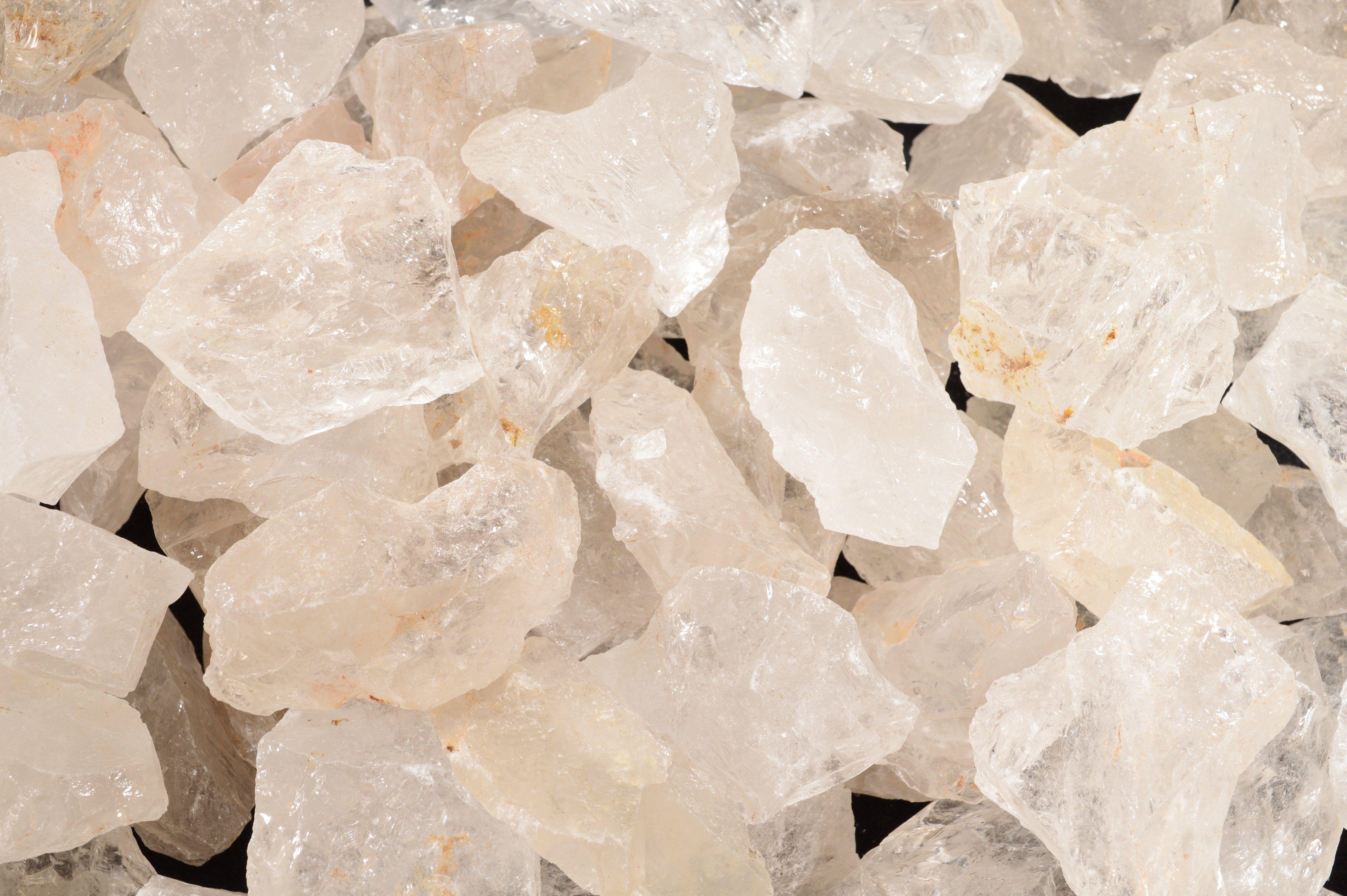 10+ Clear Quartz Crystal 1 1/2