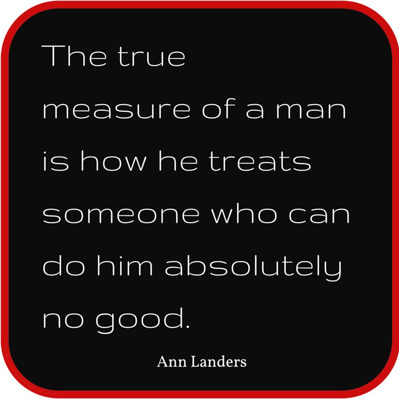 Nice Life Quote Ann Landers
