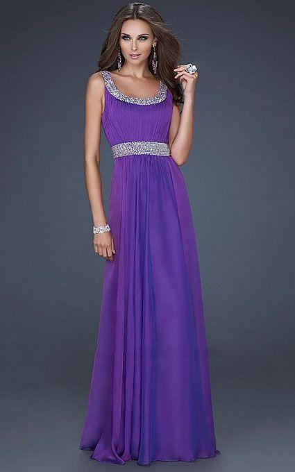 Images of Purple Long Dress - Reikian