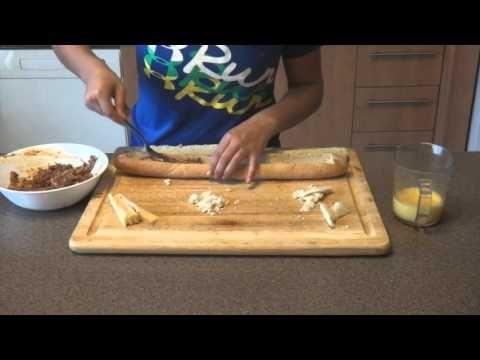 Recettes plein air - Baguette aux porcs effilochés - YouTube