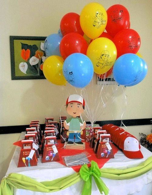 Handy manny birthday party ideas birthdays birthday for Handy manny decorations