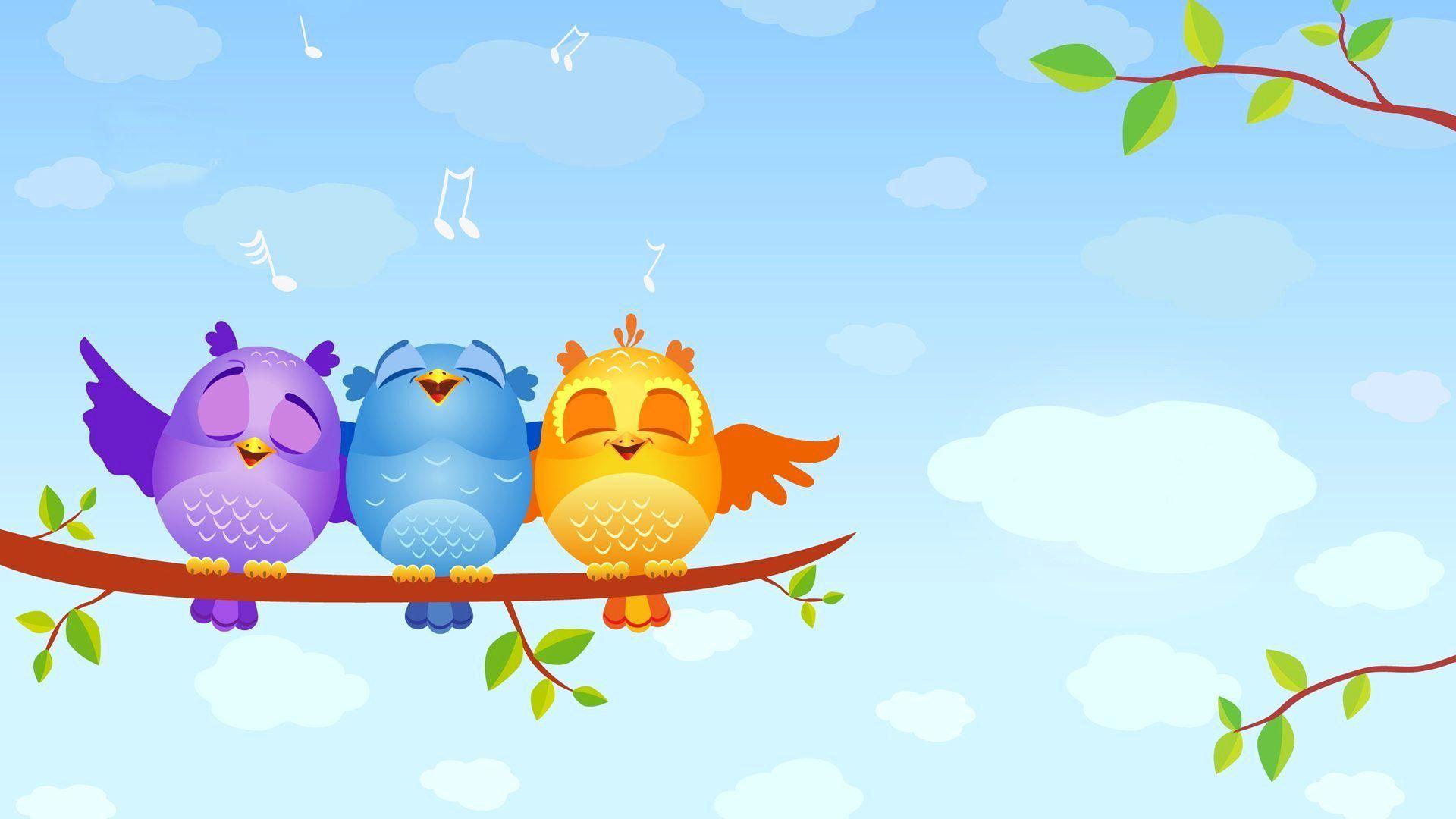 Cartoon Bird HD Wallpaper Wallpaper Series Cartoon