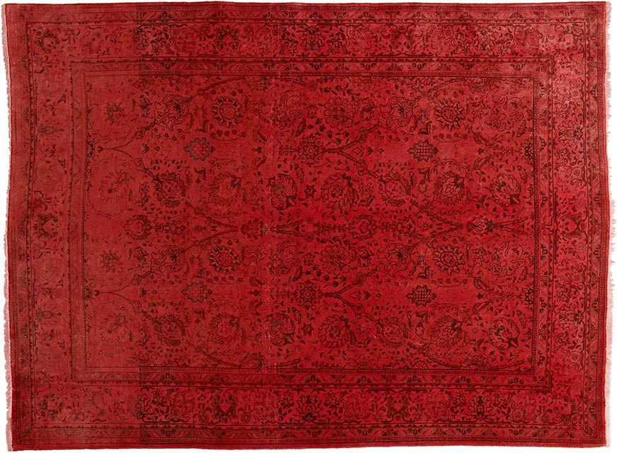 Rot (-er) Teppich by KISKAN PROCESS HAMBURG, Orientteppich - wohnzimmer rot orange