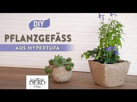 Pflanzgefäße Selber Machen diy pflanzgefäß aus hypertufa torfbeton selber machen how to