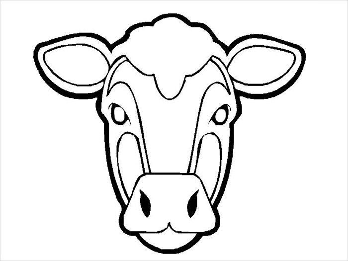 Cow Mask Template Animal <b>mask template</b> - animal <b>templates ...
