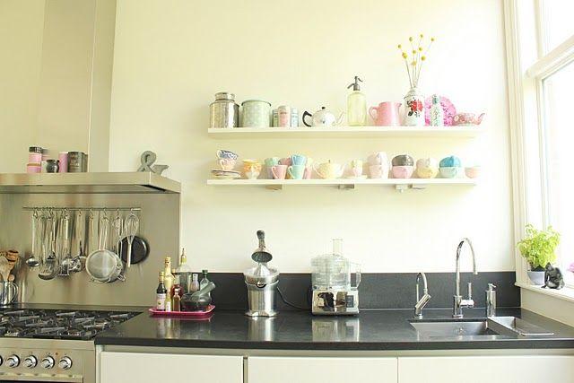 Keuken Kleine Planken : Kitchen my home in keuken keuken interieur en keuken planken