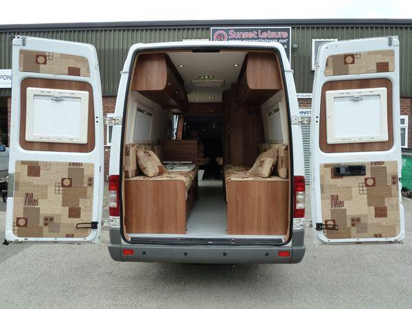 Sunset Camper Conversionscouk Mercedes SprinterVan
