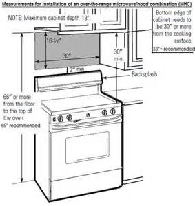 Over Range Microwave Smallest Height