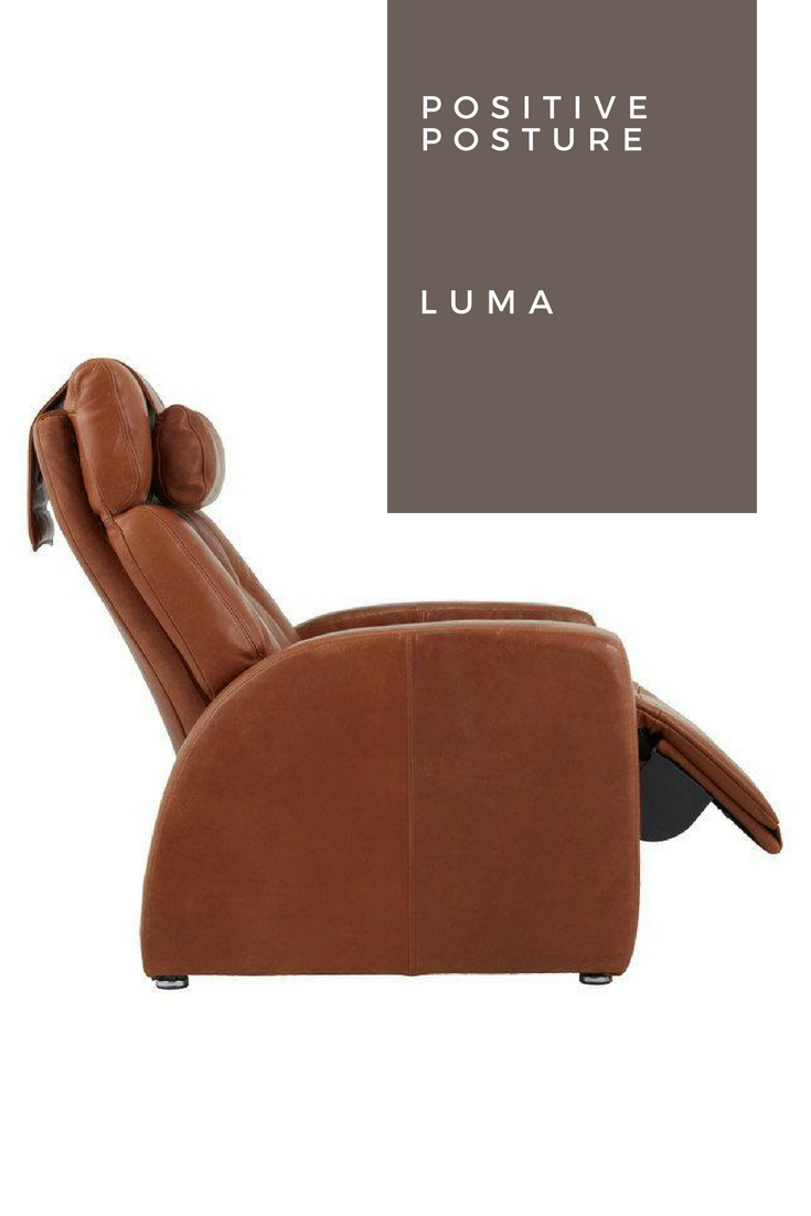 The Positive Posture Luma Chair Is A Designer Collection Made With Rich Luxury Leather