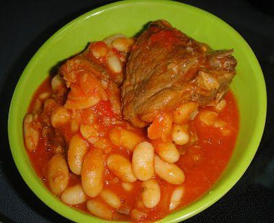 Maryam S Culinary Wonders 211 White Bean Stew Maraq Fasoulia White Beans Bean Stew Middle Eastern Recipes