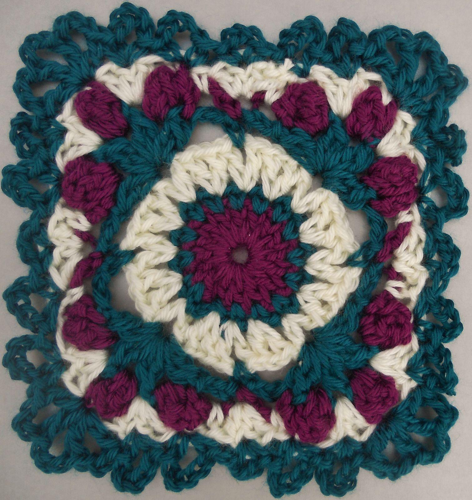 Ravelry: Passion Rose Motif pattern by Tammy Hildebrand | Crochet ...