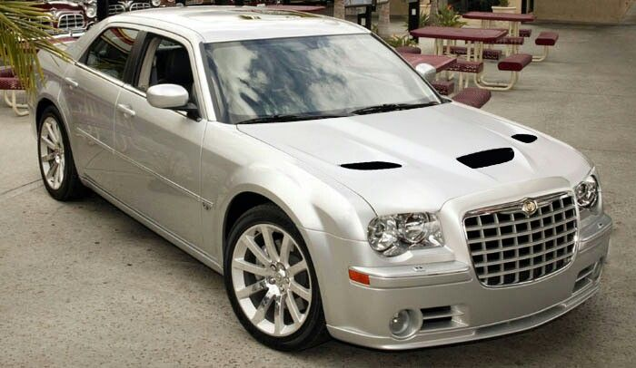 Hellcat Hood On 300c Srt8 Super Sedans Pinterest