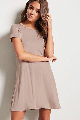ac260509f2 V-Cutout T-Shirt Dress   Products   Dresses, Shirts, Cutout dress