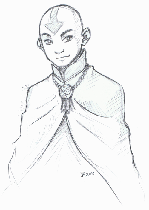 Older Aang by Fenchan | Avatar | Pinterest | Avatar, La leyenda y ...