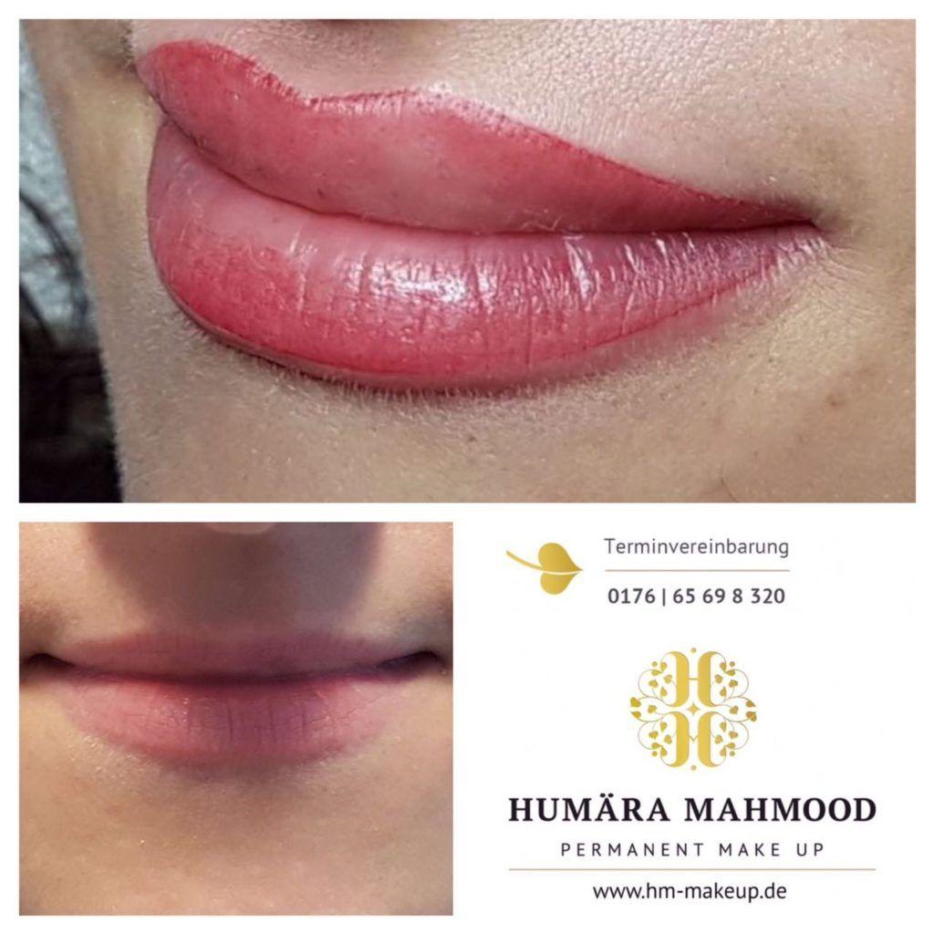 Humara Mahmood Permanent Make Up Schone Lippen Lippen Permanent Make Up Lippen