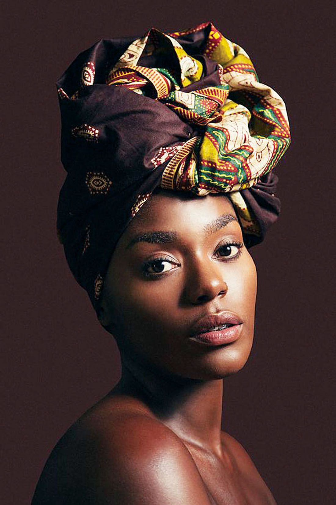 Coiffure Africaine Avec Foulard El Turbante Haitiano Y Colombiano Cover Up Pinterest