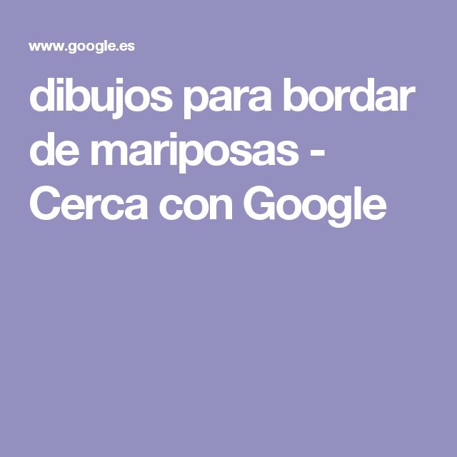dibujos para bordar de mariposas - Cerca con Google
