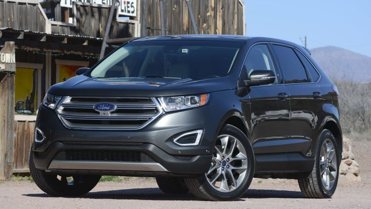 2015 Ford Edge First Drive W Videos Ford Edge Ford Ultimate Garage