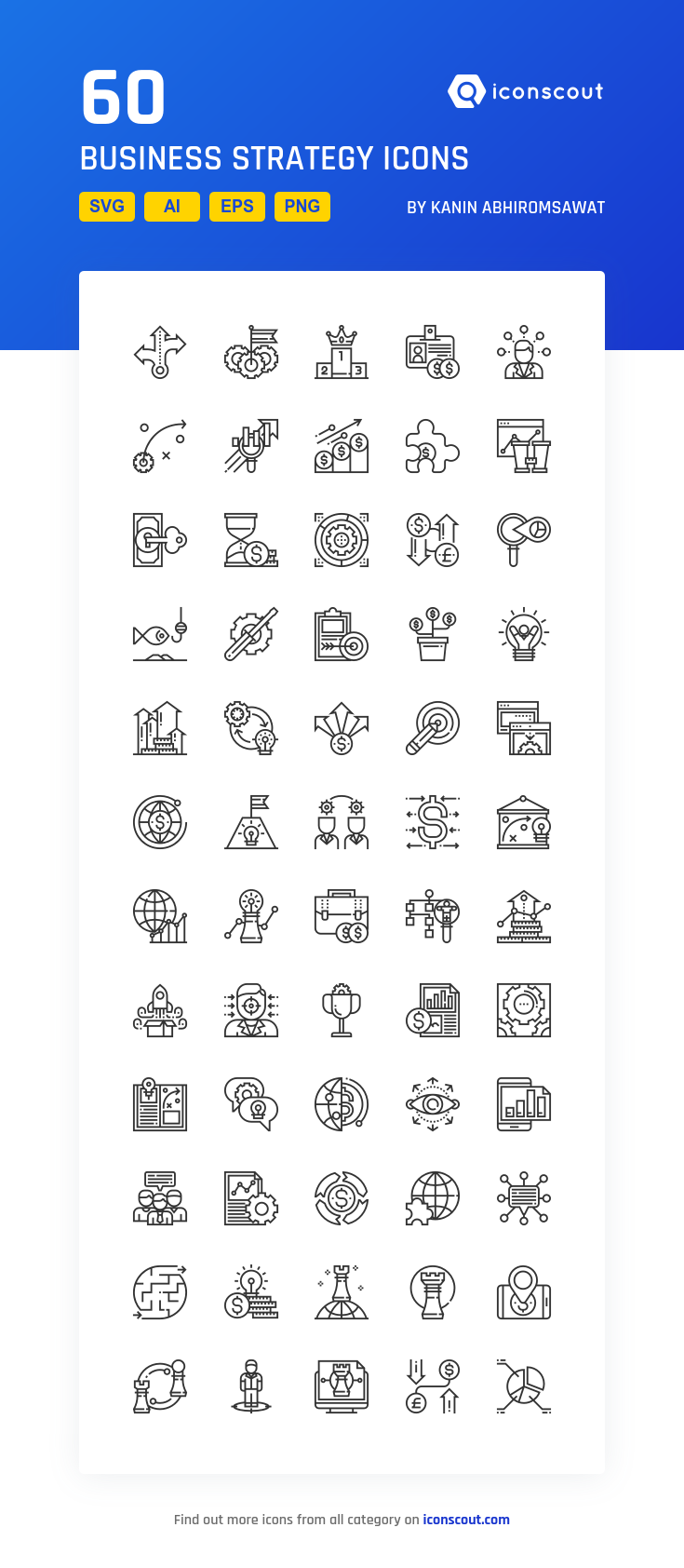 Download Business Strategy Icon Pack Available In Svg Png Eps Ai Icon Fonts Hospital Icon Icon Pack Icon