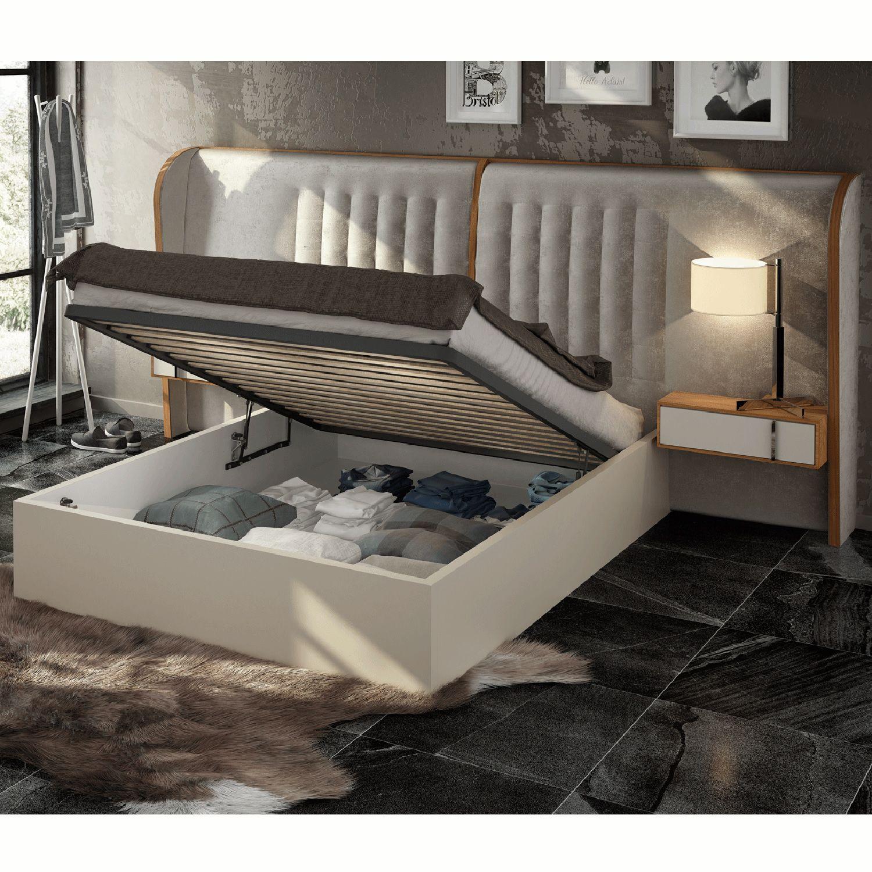 Esf Furniture Imports Cadizbedksstorage Cadiz King Storage Bed W