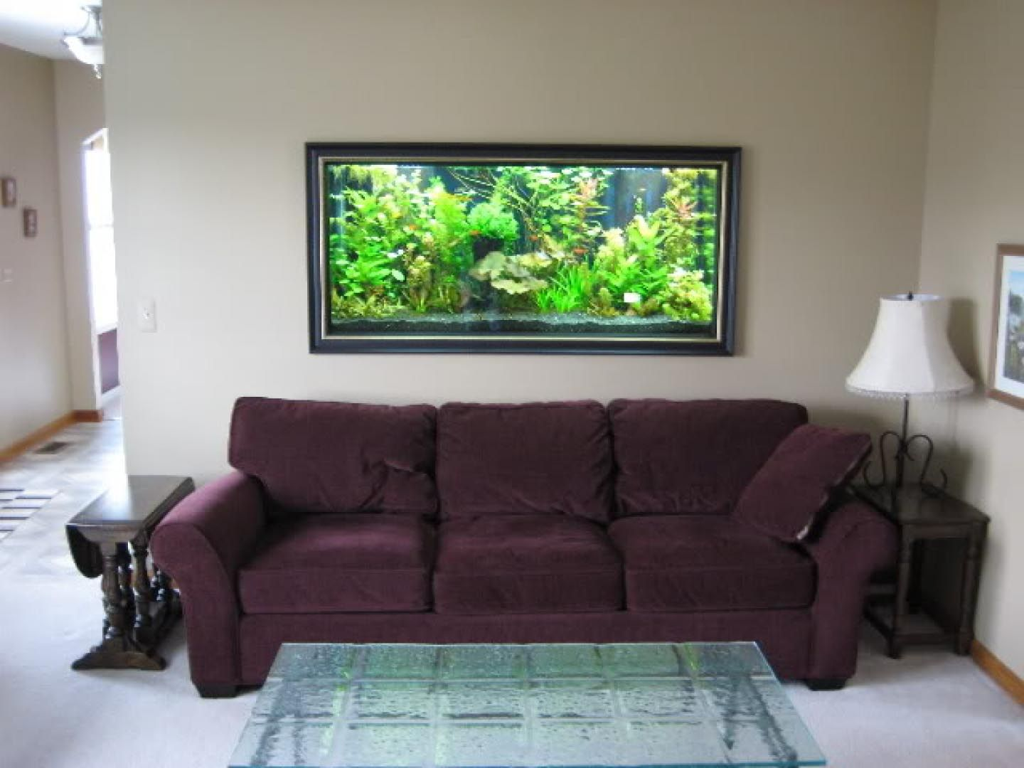 Wall Mounted Aquarium Design Wall Aquarium Aquarium