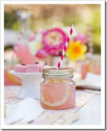 mason jar drinks! cute idea for a kids party