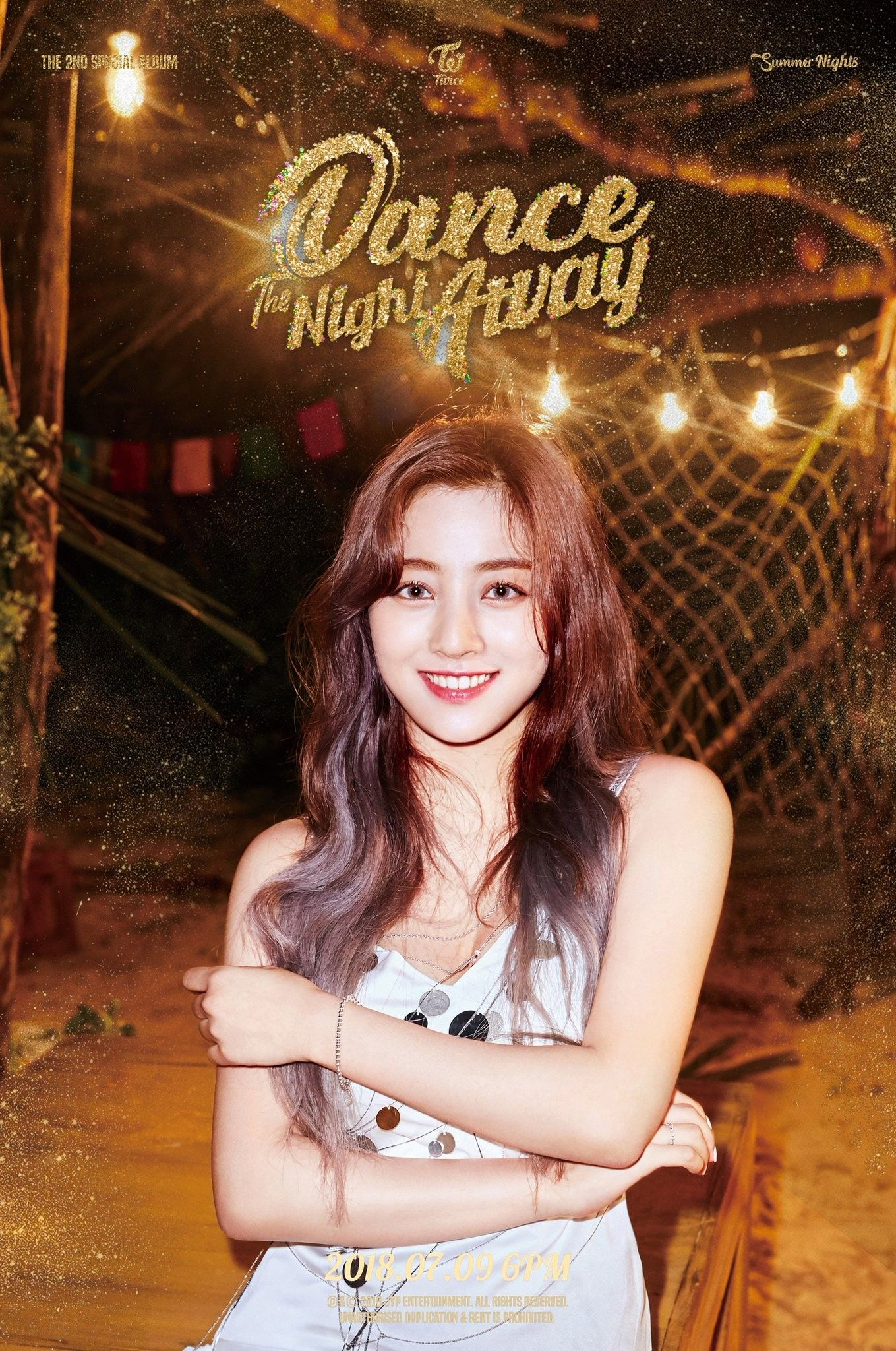 Twice Jihyo Summer Night Dance The Night Away Dance The Night