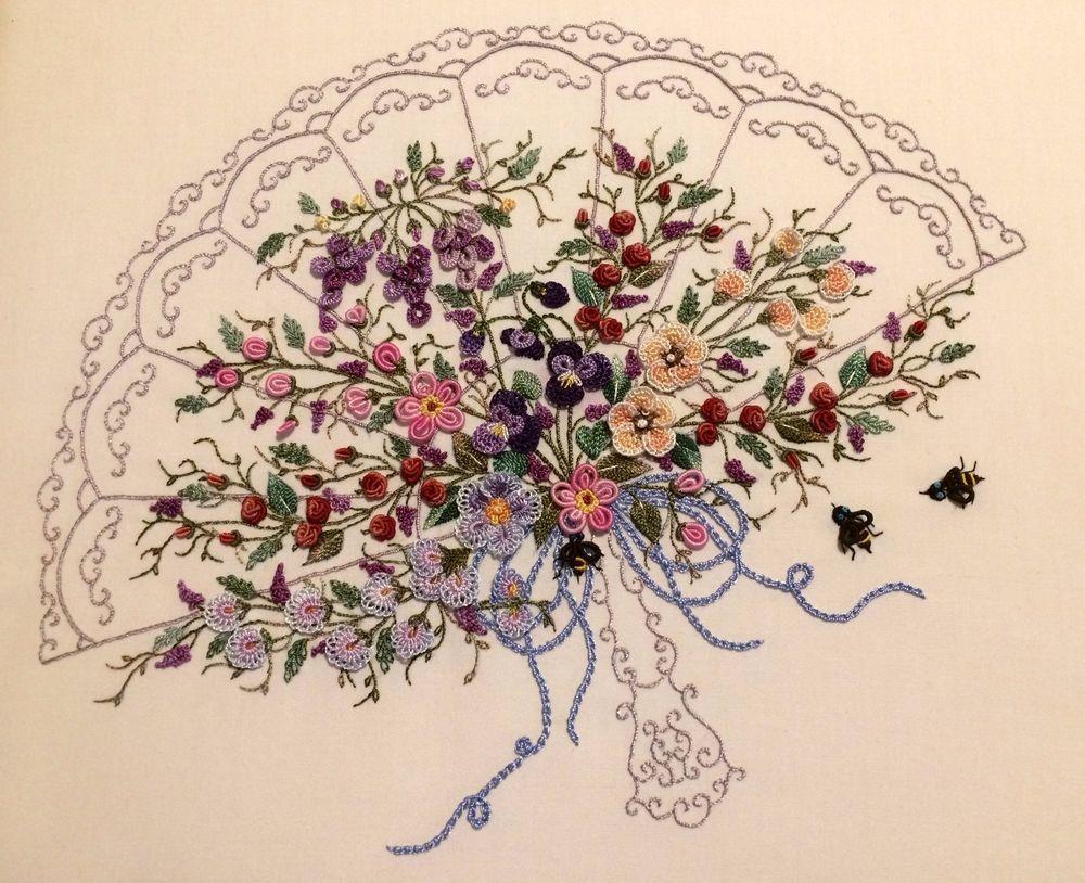 Brazilian embroidery by liliana