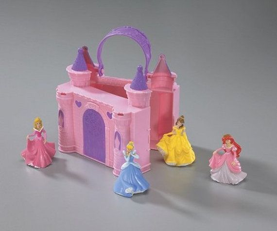 Disney Princess Castle Case Cake Topper Decor Kit by BlingYourCake