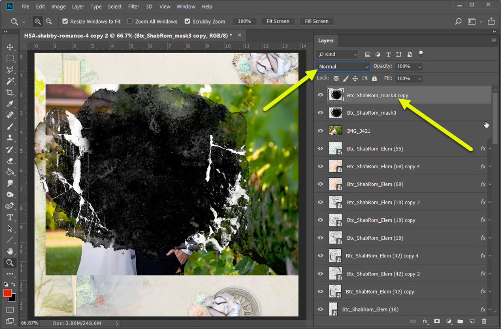 How To Two Tone Mask Photoshop Elements Tutorials