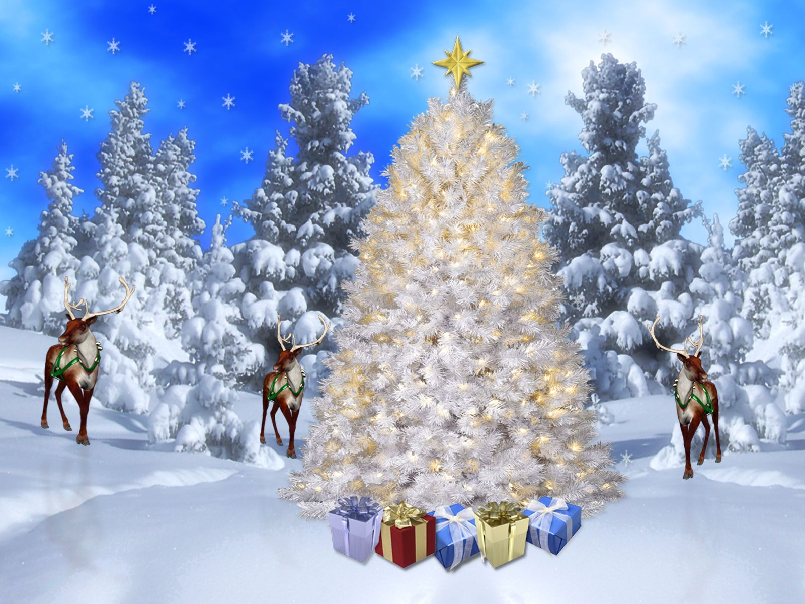 Christmas Screensavers and Wallpaper Bing images