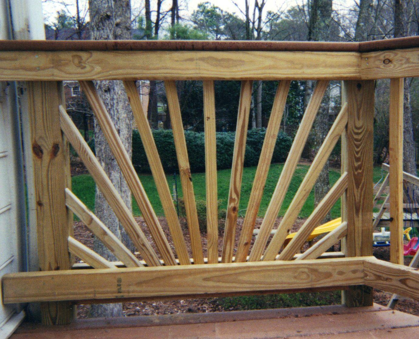 Best Decorative Starburst Handrail Design Handrail Design 400 x 300