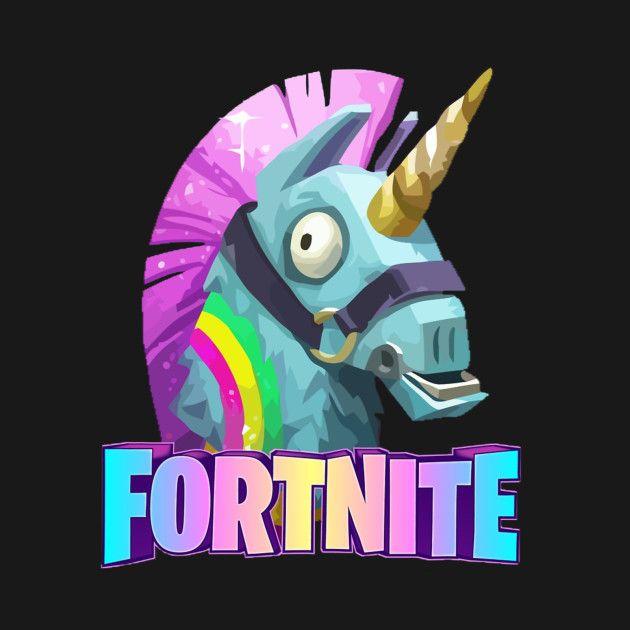 Loot Llama Fortnite T Shirt Teepublic Fortnite Epic Games Fortnite Gaming Wallpapers