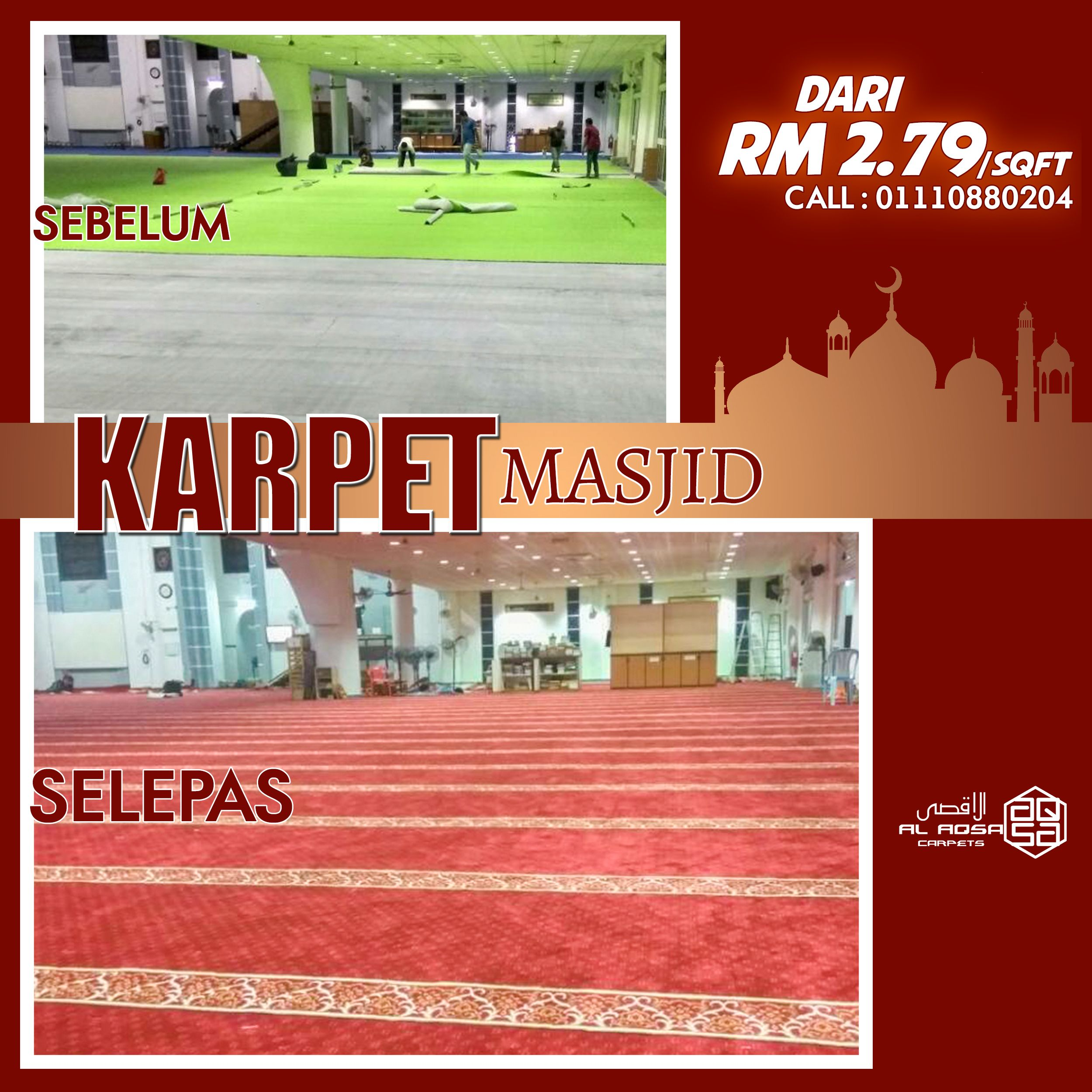 Pin by Alaqsa Carpets at DKebun Commercial Centre on