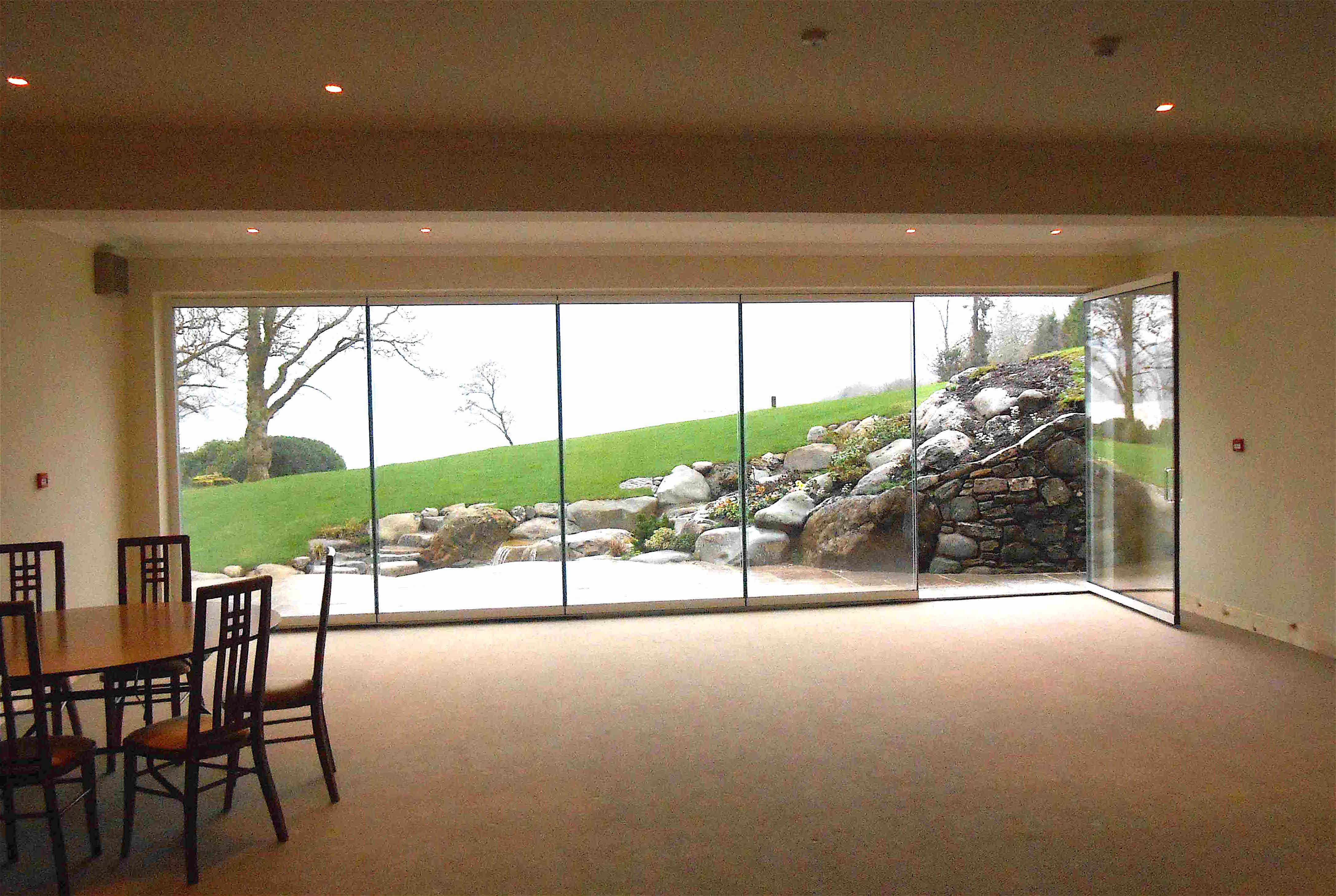 Our unique and highly advanced range of frameless bifolding doors ...