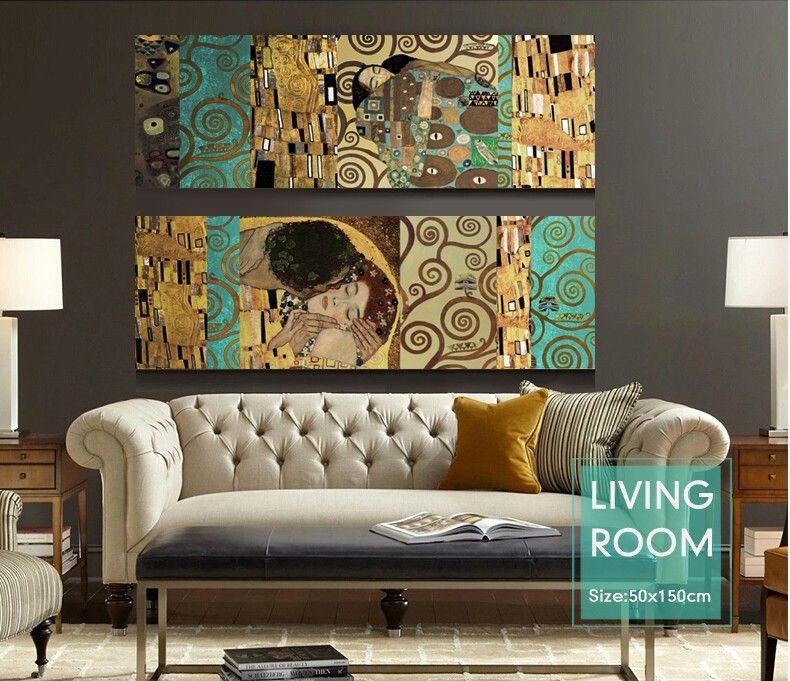 Comprar artistas gustav klimt el beso y el for Proveedores decoracion hogar