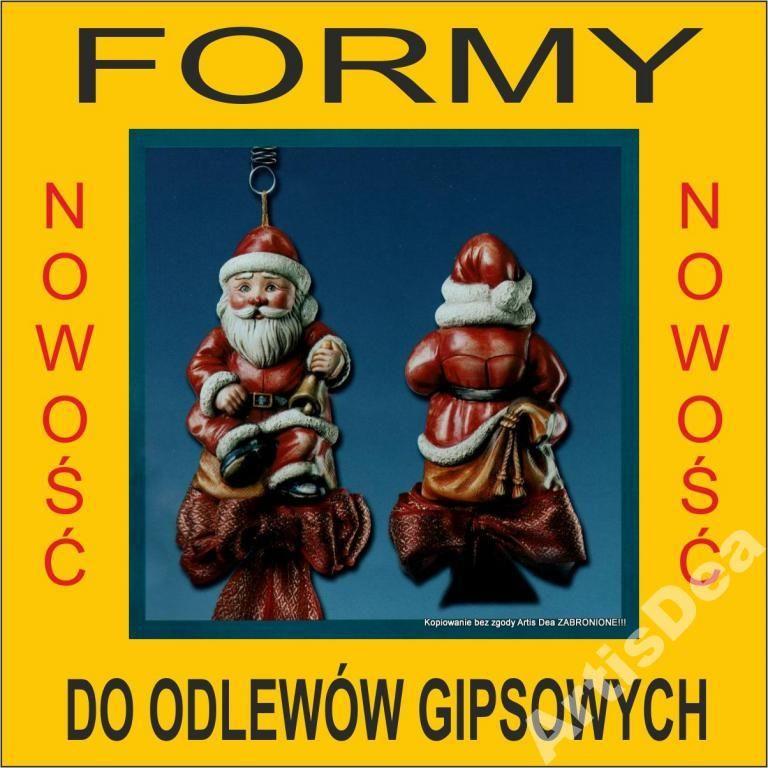 Mikolaj 3d Forma Formy Do Odlewow Gips 2594265495 Oficjalne Archiwum Allegro Christmas Ornaments Novelty Christmas Holiday Decor