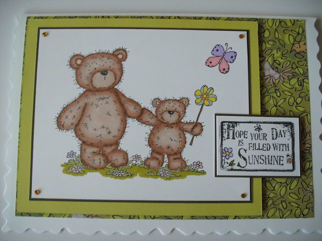 Birthday card sunshine bears hand coloured free pp sunshine birthday card sunshine bears hand coloured free pp bookmarktalkfo Images