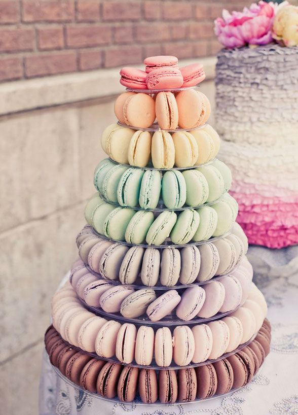 12 Unique Wedding Desserts Besides Cake Food Macaroon Cake Macaroons