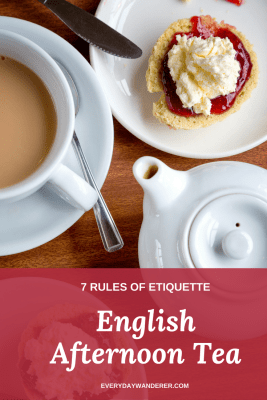 Etiquette Tips for English Afternoon Tea