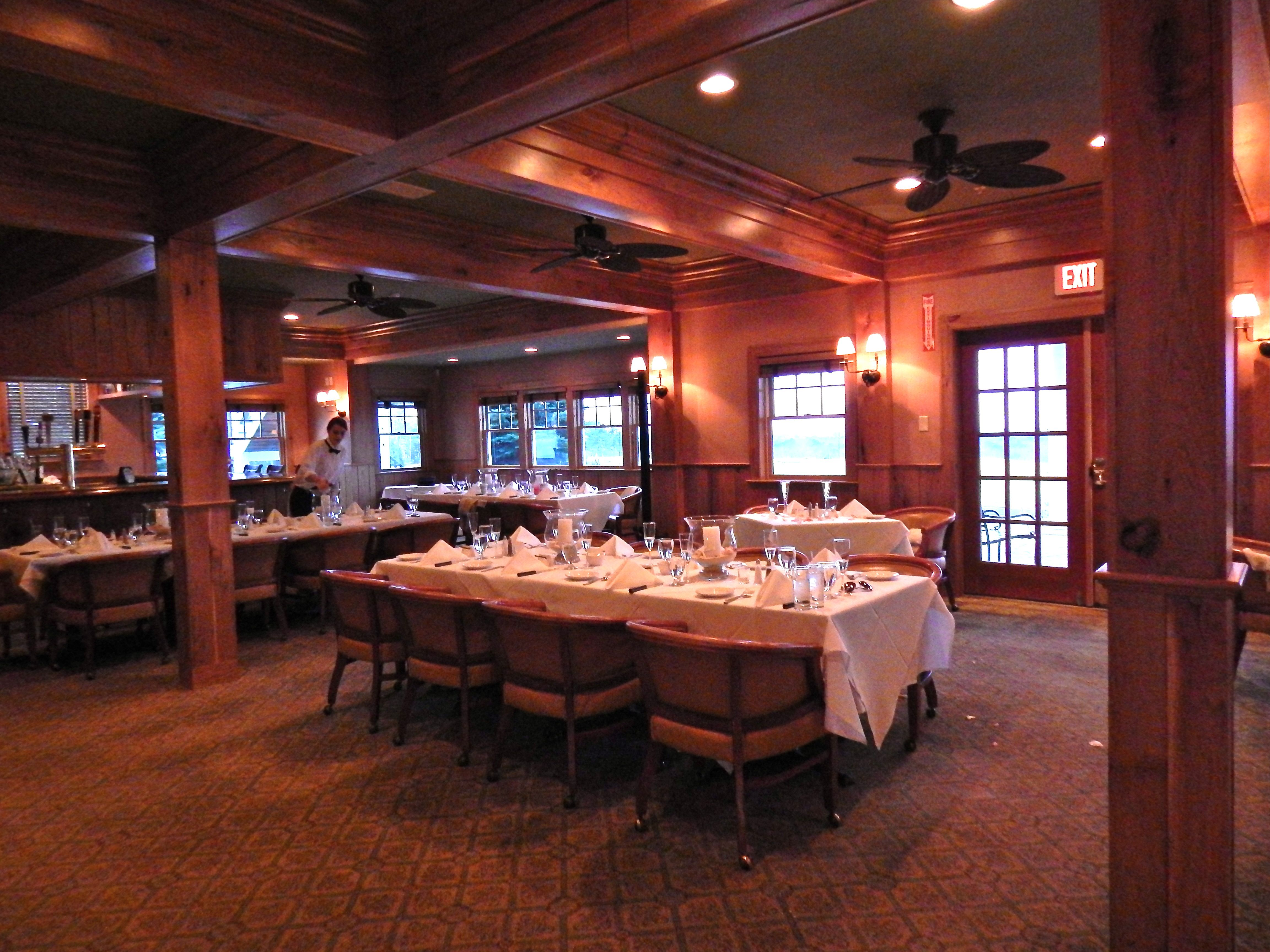 Small Wedding In The Sunset Grille Brookside Club Bourne MA