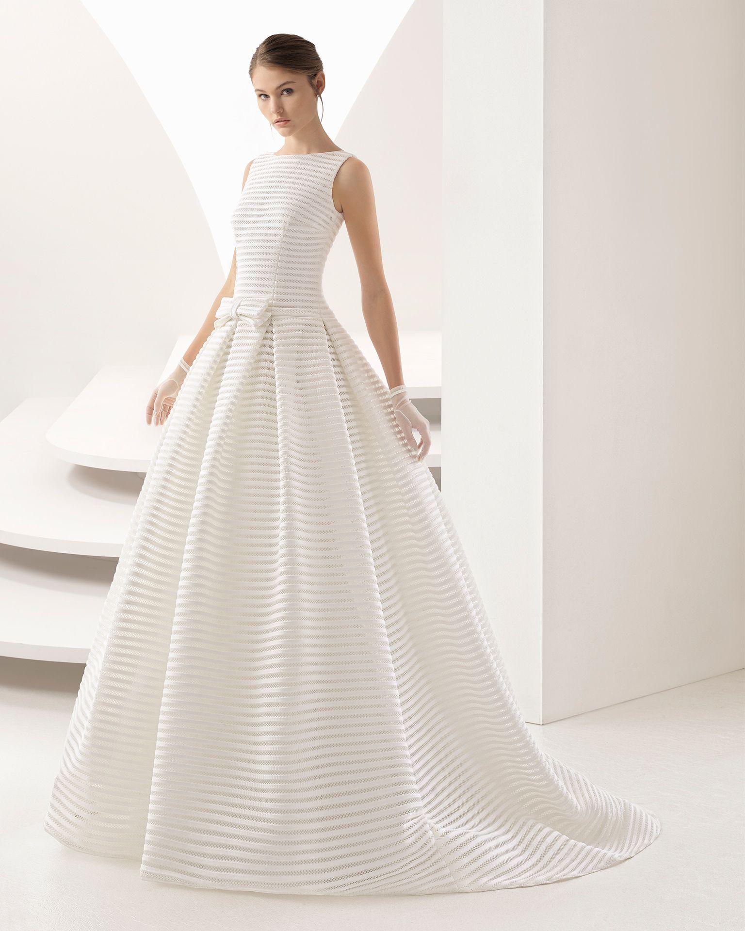 ONEIDA - Hochzeit 2018. Rosa Clará Kollektion | Wedding dress ...