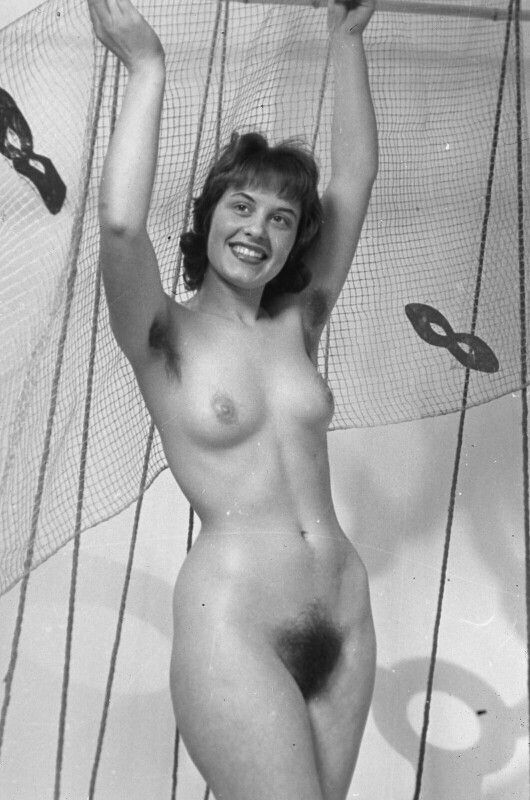 vintage Natural woman nude