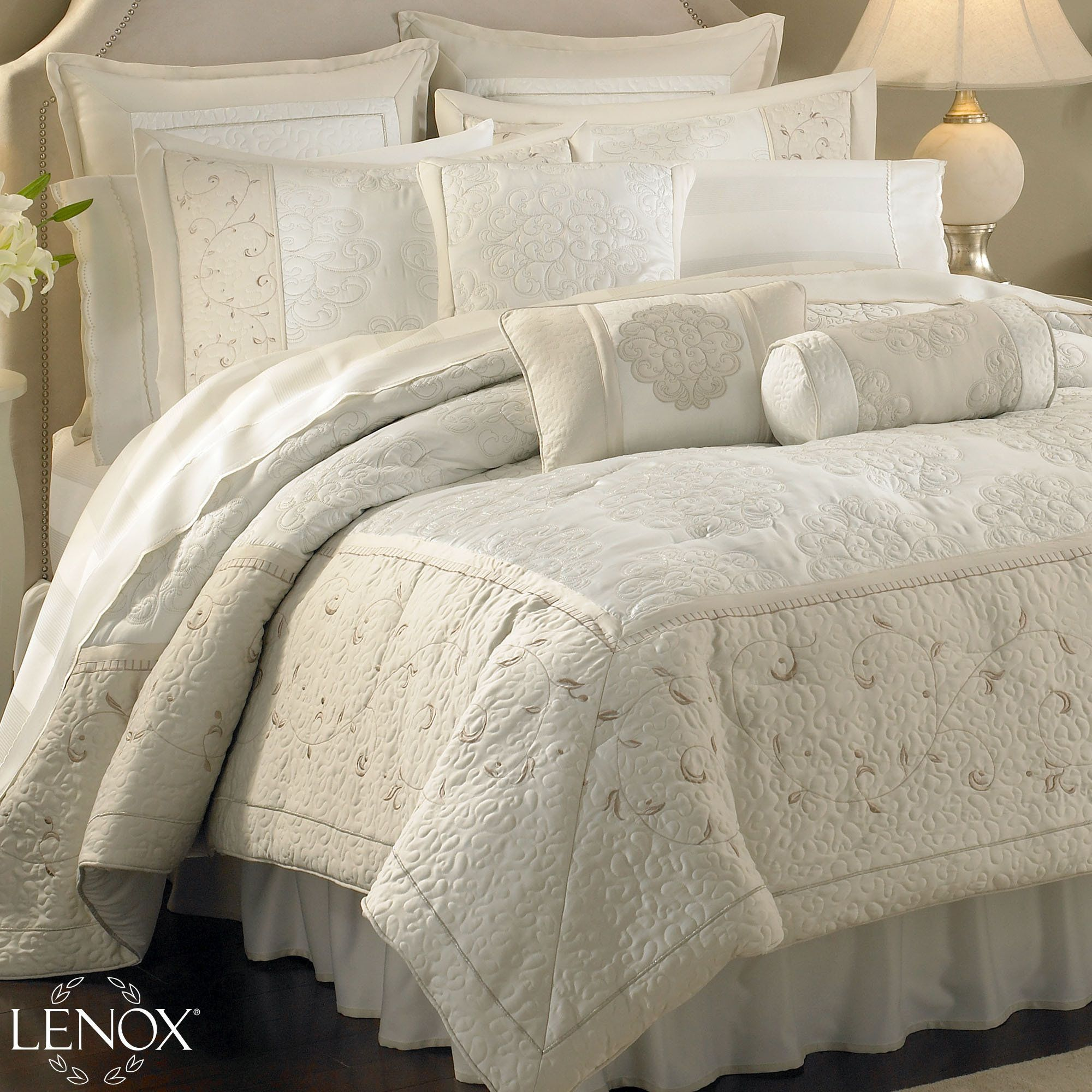Great Solitaire Comforter Bedding From Lenox(R) American By Design