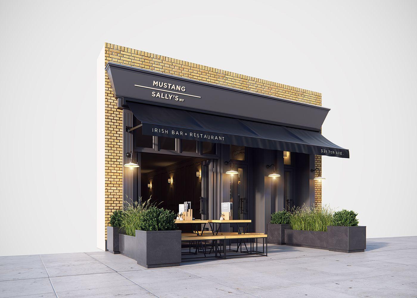 MUSTANG SALLY'S Irish bar + restaurant New York on Behance