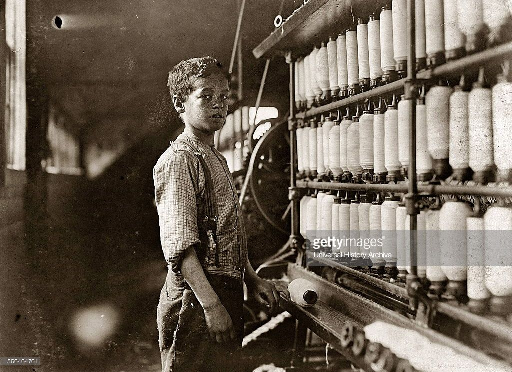 Lewis Hine, child labourer John Dempsey 1909. American