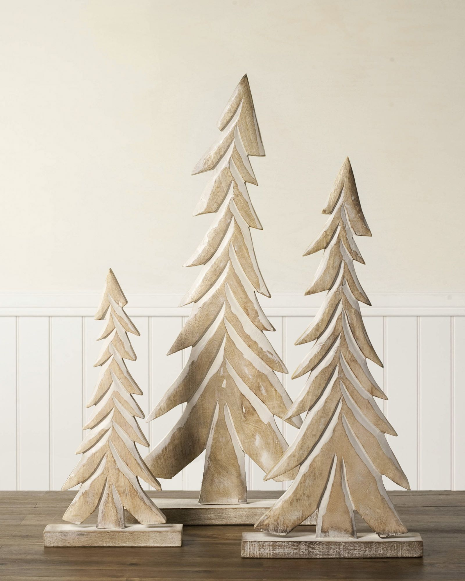 Perfect Wood Tabletop Christmas Trees | Balsam Hill