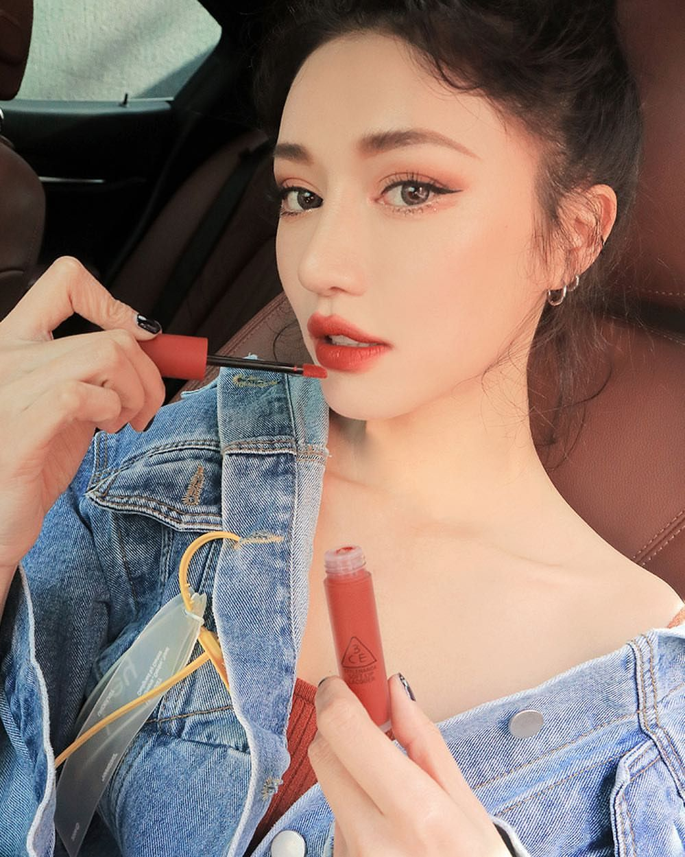 goodmorning 3CE SOFT LIP LACQUER NULL SET 3ce