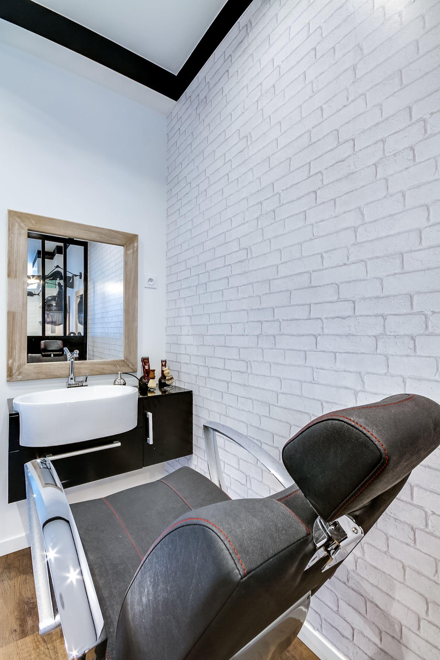Rénovation totale d\'un Salon de coiffure. Paris. Création espace ...
